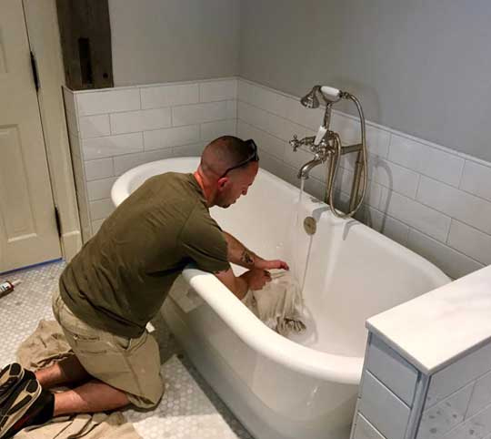 plumbing problem bathtub