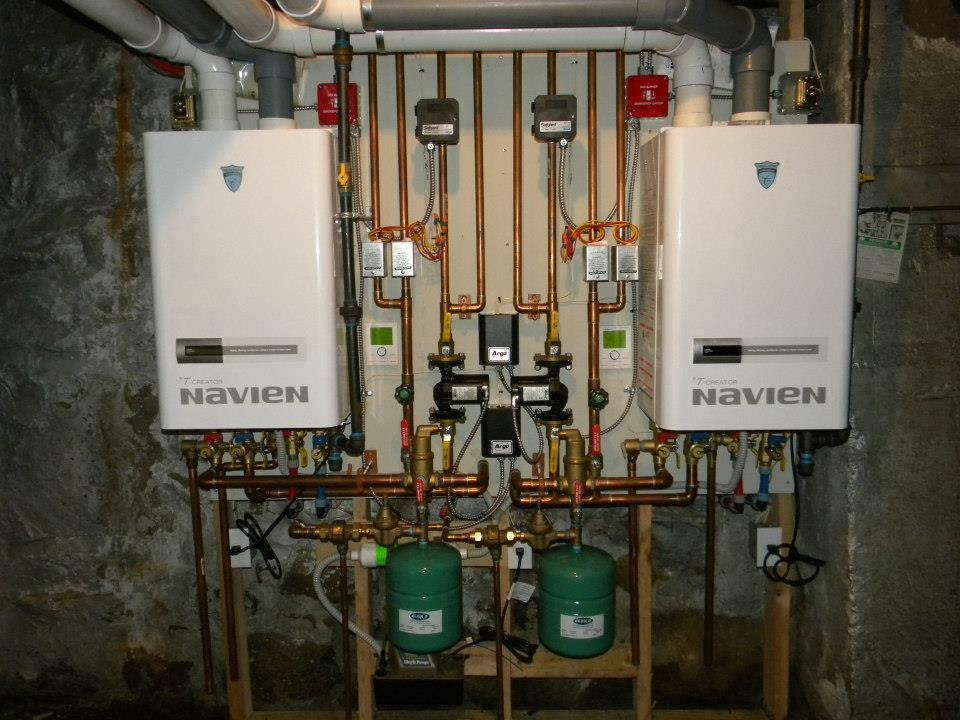 Replacing Steam Boilers